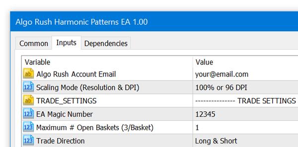 Harmonic Pattern EA Expert Advisor Trading Robot MetaTrader 4 MetaTrader 5 MT4 MT5 Download
